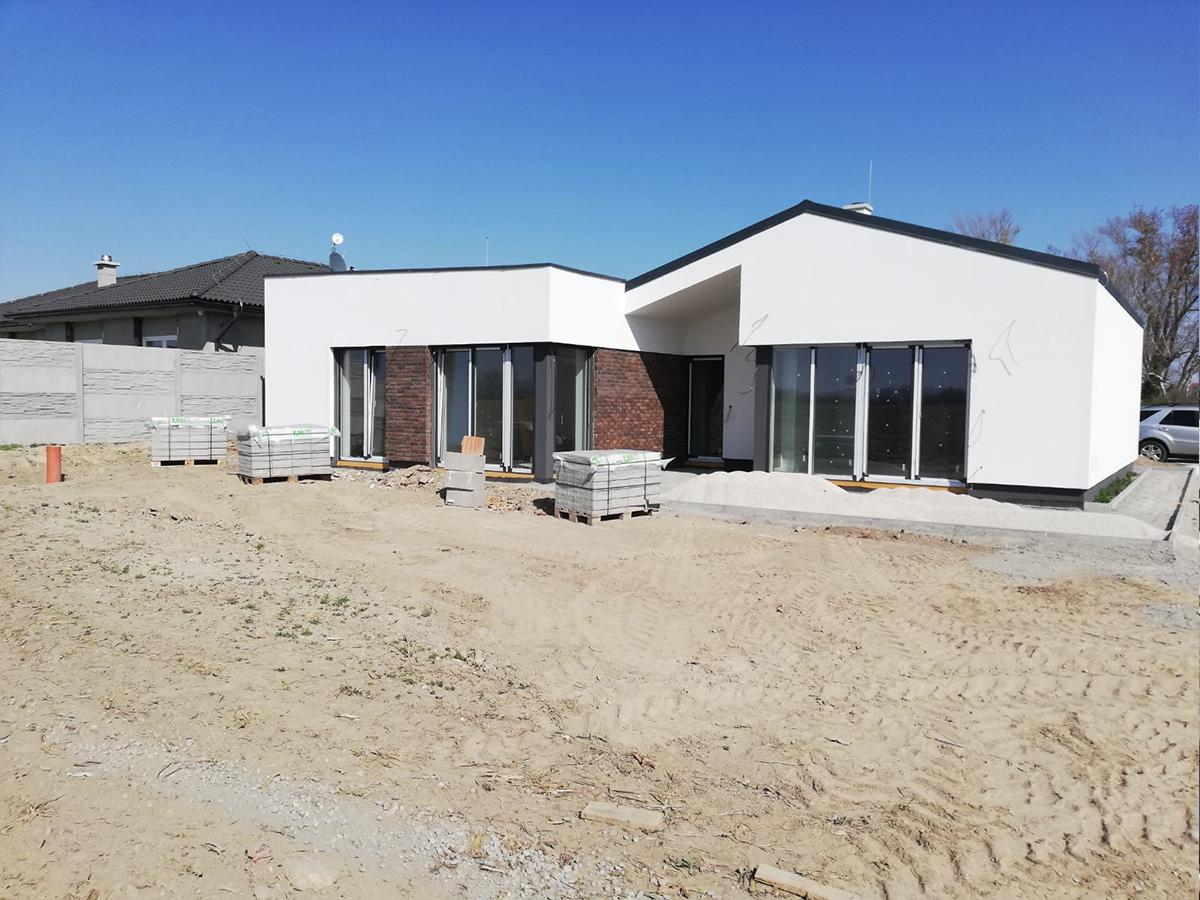 Zálesie - výstavba rodinného domu