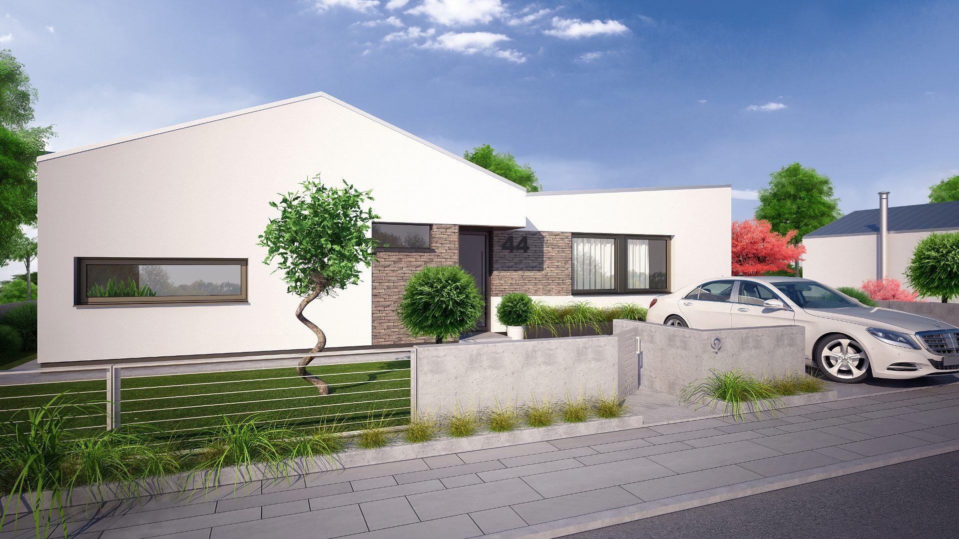 5-izbový rodinný dom v Zálesí - vizualizácia